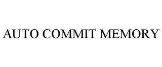mark for AUTO COMMIT MEMORY, trademark #85591788