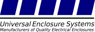 mark for UNIVERSAL ENCLOSURE SYSTEMS MANUFACTURERS OF QUALITY ELECTRICAL ENCLOSURES, trademark #85591823