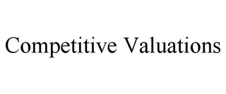 mark for COMPETITIVE VALUATIONS, trademark #85591832