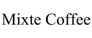 mark for MIXTE COFFEE, trademark #85592046