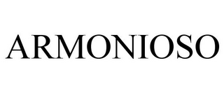 mark for ARMONIOSO, trademark #85592435