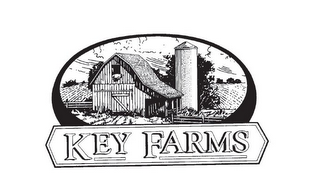 mark for KEY FARMS, trademark #85592469