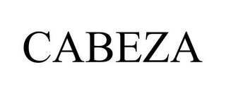 mark for CABEZA, trademark #85592626