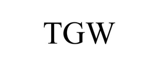 mark for TGW, trademark #85592653