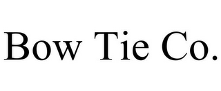 mark for BOW TIE CO., trademark #85592989