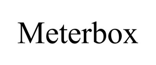 mark for METERBOX, trademark #85593027
