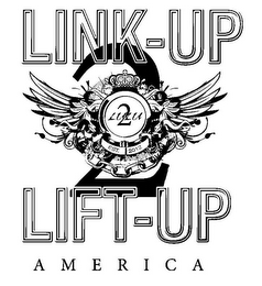 mark for LINK-UP 2 LIFT-UP AMERICA LULU 2 EST. 2012, trademark #85593261