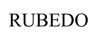 mark for RUBEDO, trademark #85593363
