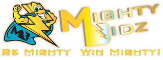 mark for MIGHTY BIDZ BE MIGHTY WIN MIGHTY! MB, trademark #85593550