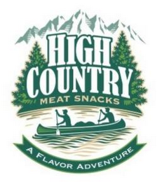 mark for HIGH COUNTRY MEAT SNACKS A FLAVOR ADVENTURE, trademark #85593810