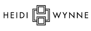 mark for H HEIDI WYNNE, trademark #85593829