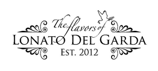 mark for THE FLAVORS OF LONATO DEL GARDA EST. 2012, trademark #85593871