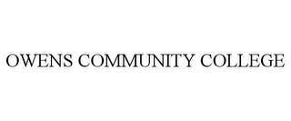 mark for OWENS COMMUNITY COLLEGE, trademark #85594248