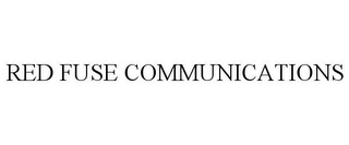 mark for RED FUSE COMMUNICATIONS, trademark #85594268
