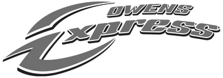 mark for OWENS EXPRESS, trademark #85594273