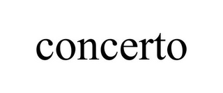 mark for CONCERTO, trademark #85594328