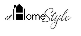 mark for AT HOME STYLE, trademark #85594347