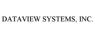 mark for DATAVIEW SYSTEMS, INC., trademark #85594350