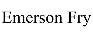 mark for EMERSON FRY, trademark #85594360
