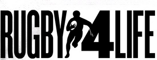 mark for RUGBY 4 LIFE, trademark #85594412