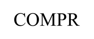 mark for COMPR, trademark #85594455