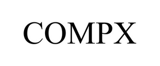 mark for COMPX, trademark #85594477