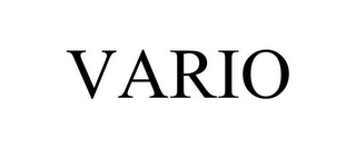 mark for VARIO, trademark #85594478