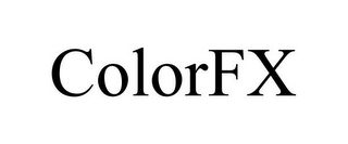 mark for COLORFX, trademark #85594732