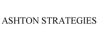 mark for ASHTON STRATEGIES, trademark #85595627
