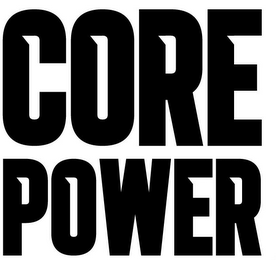 mark for CORE POWER, trademark #85595636