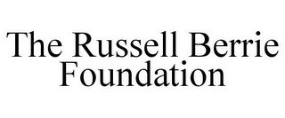 mark for THE RUSSELL BERRIE FOUNDATION, trademark #85595730