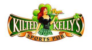 mark for KILTED KELLY'S SPORTS PUB, trademark #85595745
