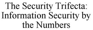 mark for THE SECURITY TRIFECTA: INFORMATION SECURITY BY THE NUMBERS, trademark #85595926