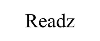 mark for READZ, trademark #85596050
