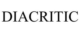 mark for DIACRITIC, trademark #85596083