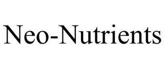 mark for NEO-NUTRIENTS, trademark #85596101