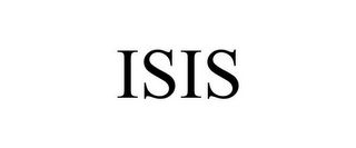 mark for ISIS, trademark #85596786