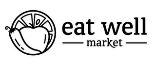 mark for EAT WELL MARKET, trademark #85596831