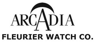 mark for ARCADIA FLEURIER WATCH CO., trademark #85596925