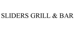 mark for SLIDERS GRILL & BAR, trademark #85597008