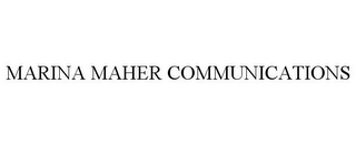 mark for MARINA MAHER COMMUNICATIONS, trademark #85597035