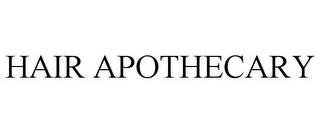 mark for HAIR APOTHECARY, trademark #85597157