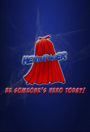 mark for HEROPAGER BE SOMEONE'S HERO TODAY!, trademark #85597612