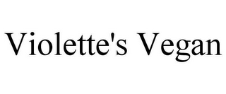 mark for VIOLETTE'S VEGAN, trademark #85598030
