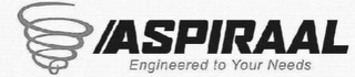 mark for ASPIRAAL ENGINEERED TO YOUR NEEDS, trademark #85598171