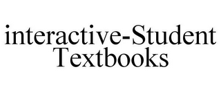 mark for INTERACTIVE-STUDENT TEXTBOOKS, trademark #85598199