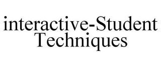 mark for INTERACTIVE-STUDENT TECHNIQUES, trademark #85598200