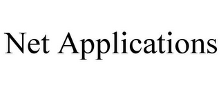 mark for NET APPLICATIONS, trademark #85598268