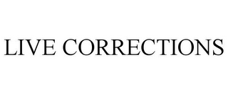 mark for LIVE CORRECTIONS, trademark #85598338