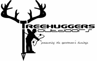 mark for TREEHUGGERS OUTDOORS PRESERVING THE SPORTMAN'S HERITAGE, trademark #85598478